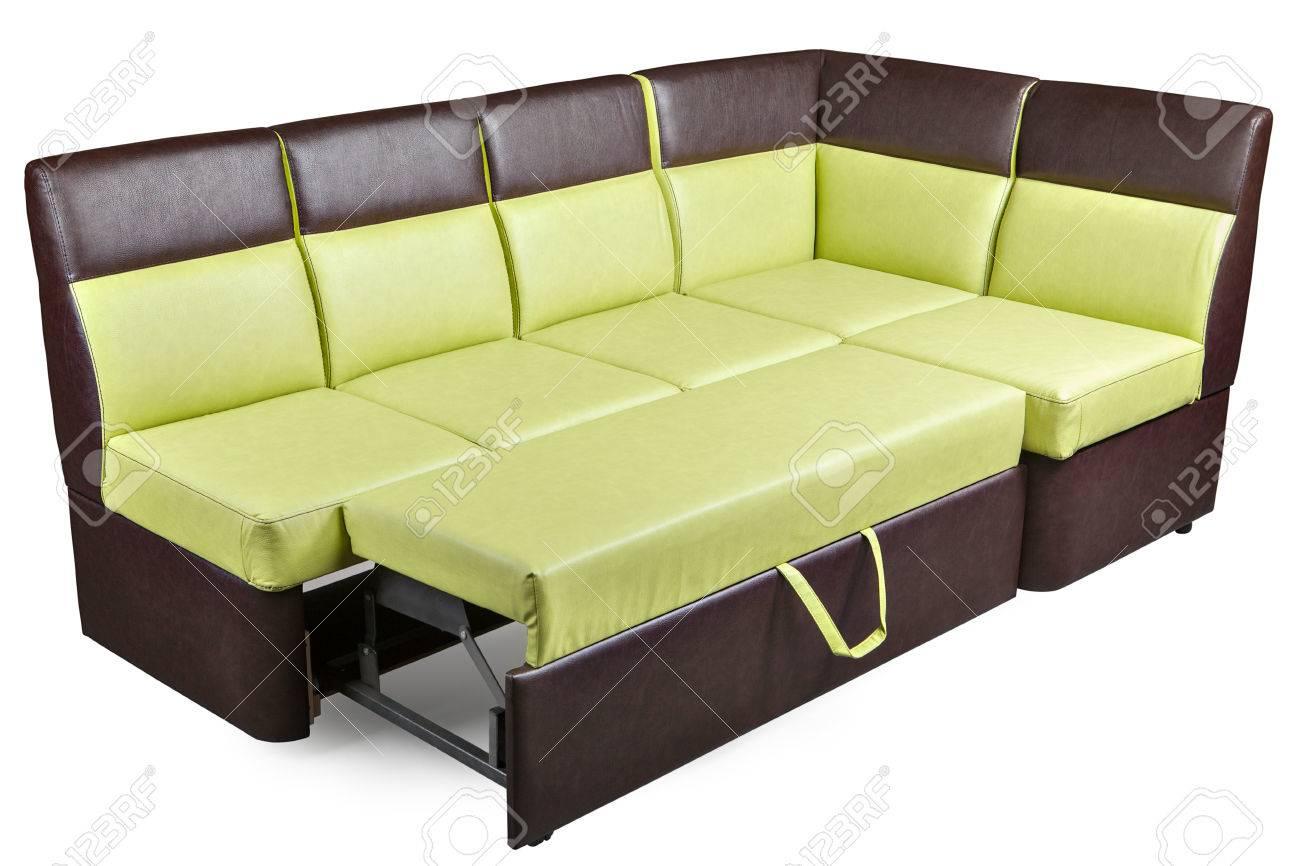 レザー l 字型コーナー ベンチ、ダイニング家具分解ソファーベッド