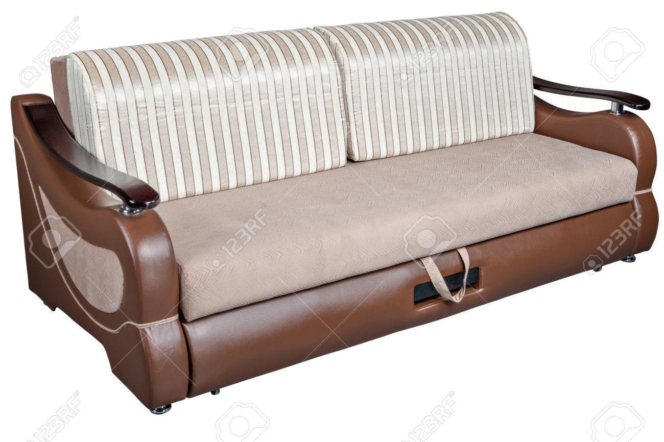 - Modern Folding Great Sofa Bed Mechanism Folded Stock Photo
