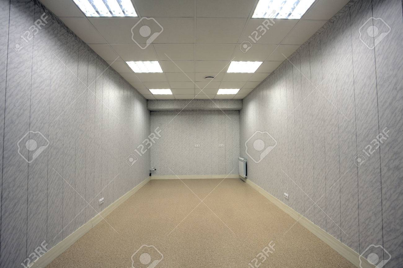 Small Abandoned Office Space With No Windows And Unfurnished Stock Photo Picture And Royalty Free Image Image 71115928