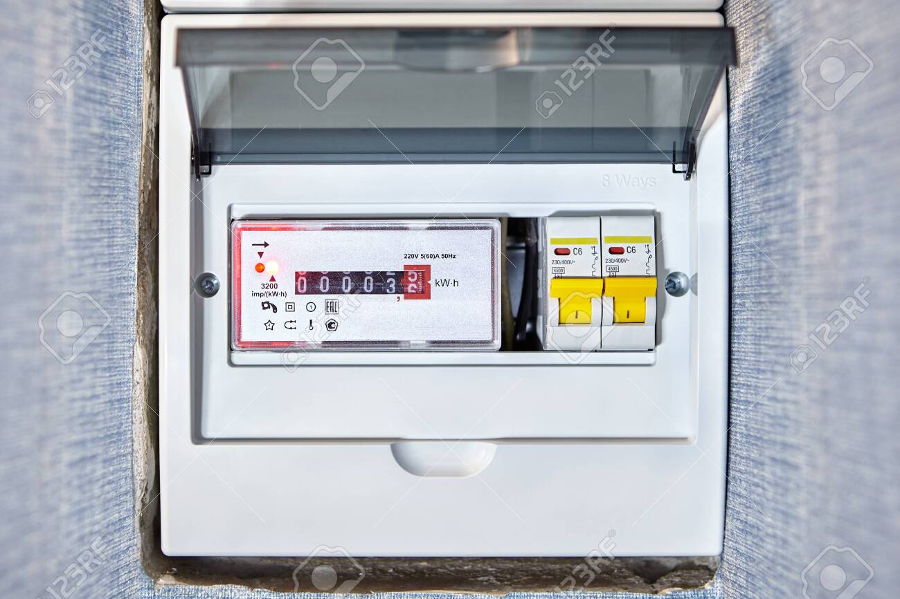 [DIAGRAM_38ZD]  Household Electrical Distribution Box Has 8 Ways Mounted Of.. Stock Photo,  Picture And Royalty Free Image. Image 128259860. | Cap Fuse Box Circuit Breakers |  | 123RF.com