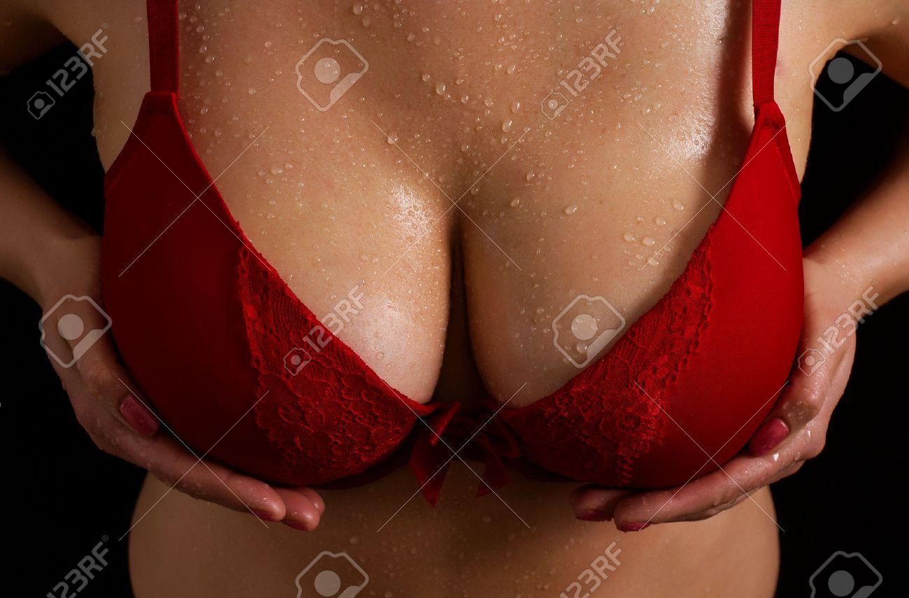 Girl uses vibrator in public