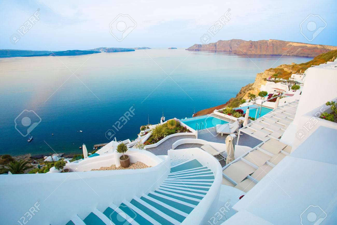 Beautiful Santorini by surise - 80674361