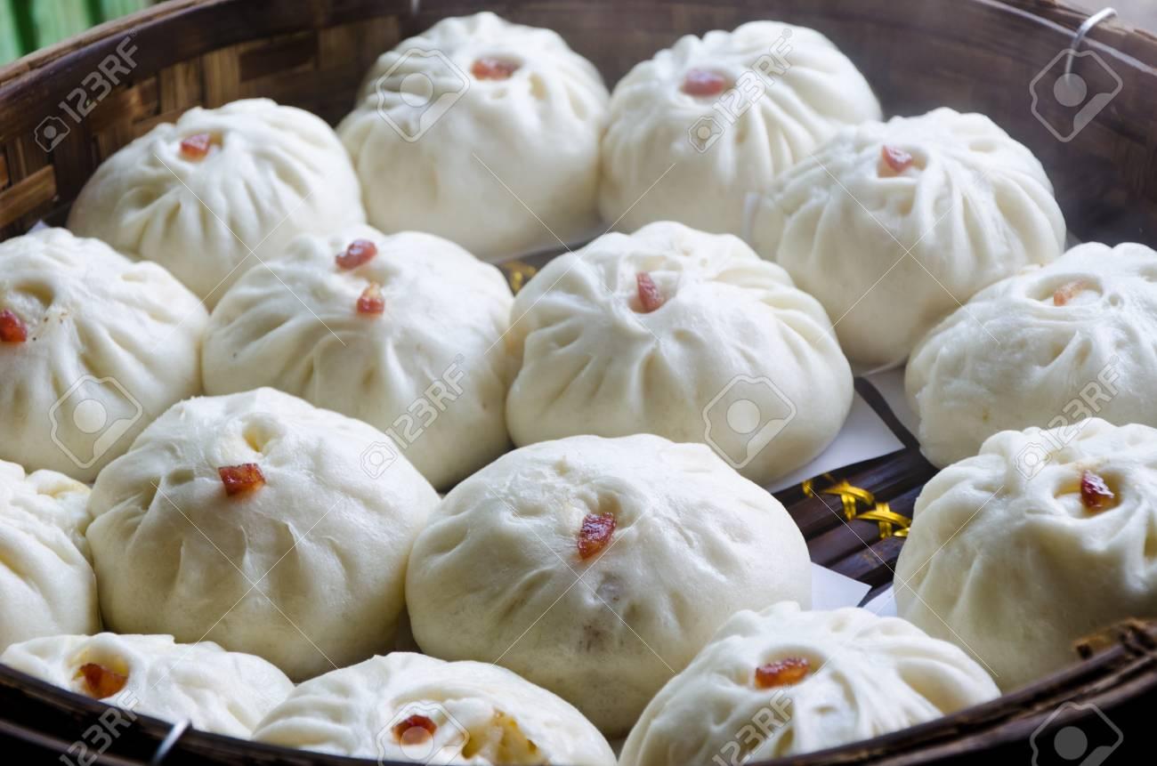 siopao o bollos al vapor un alimento popular en las filipinas y tailandia siopao