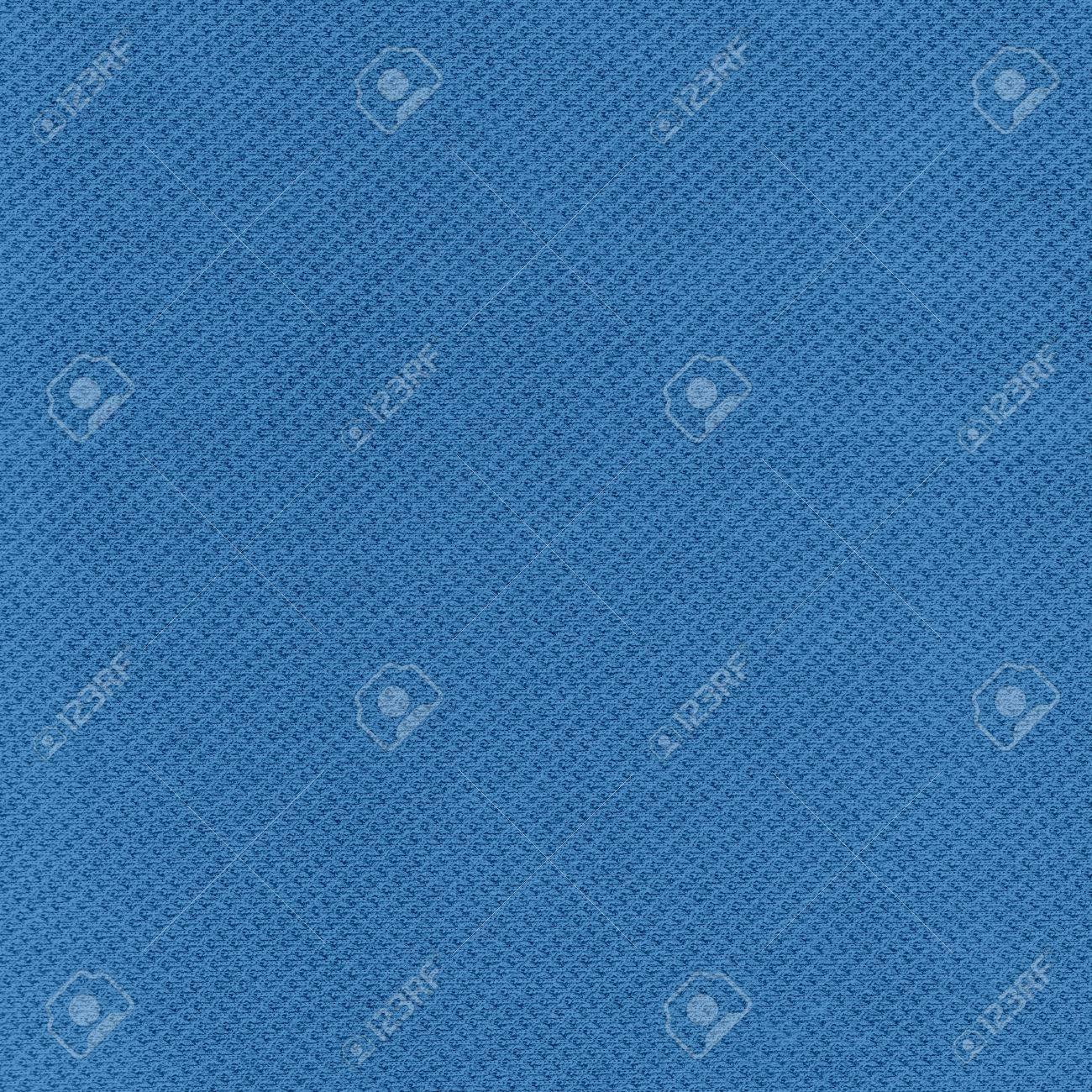 Blue Sport Jersey Mesh Textile Stock Photo - 16707944