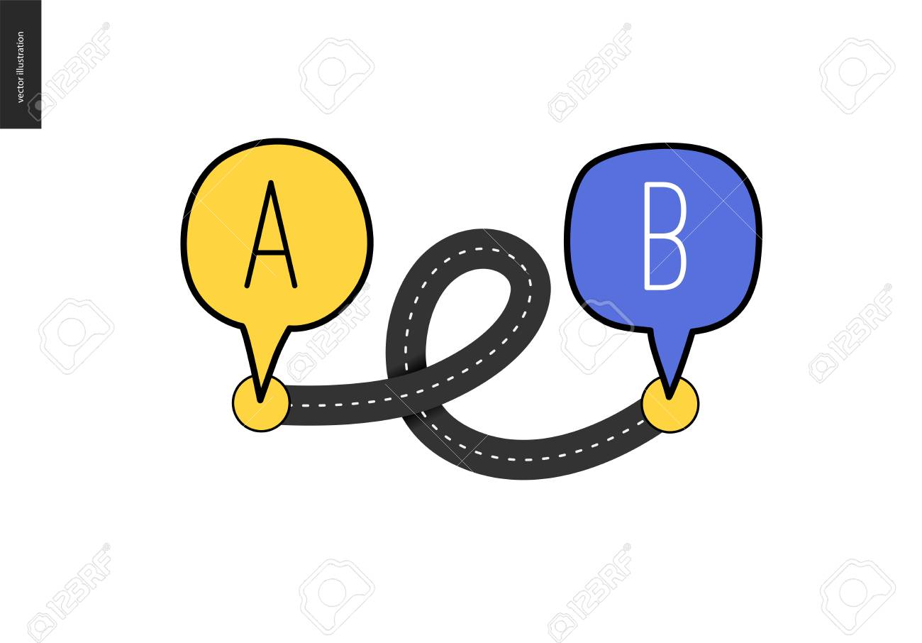 Image result for points a to b