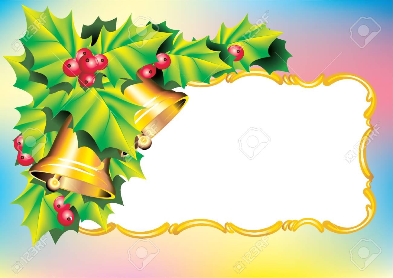 Vector. Christmas postcard Stock Vector - 2615646