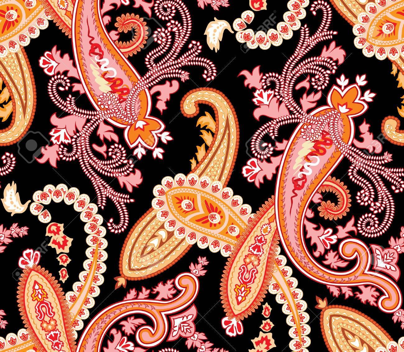 Seamless paisley pattern Stock Vector - 3359074