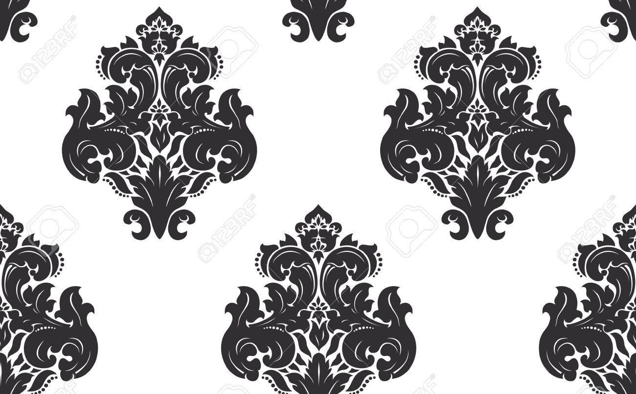 Seamless damask pattern Stock Vector - 15415351