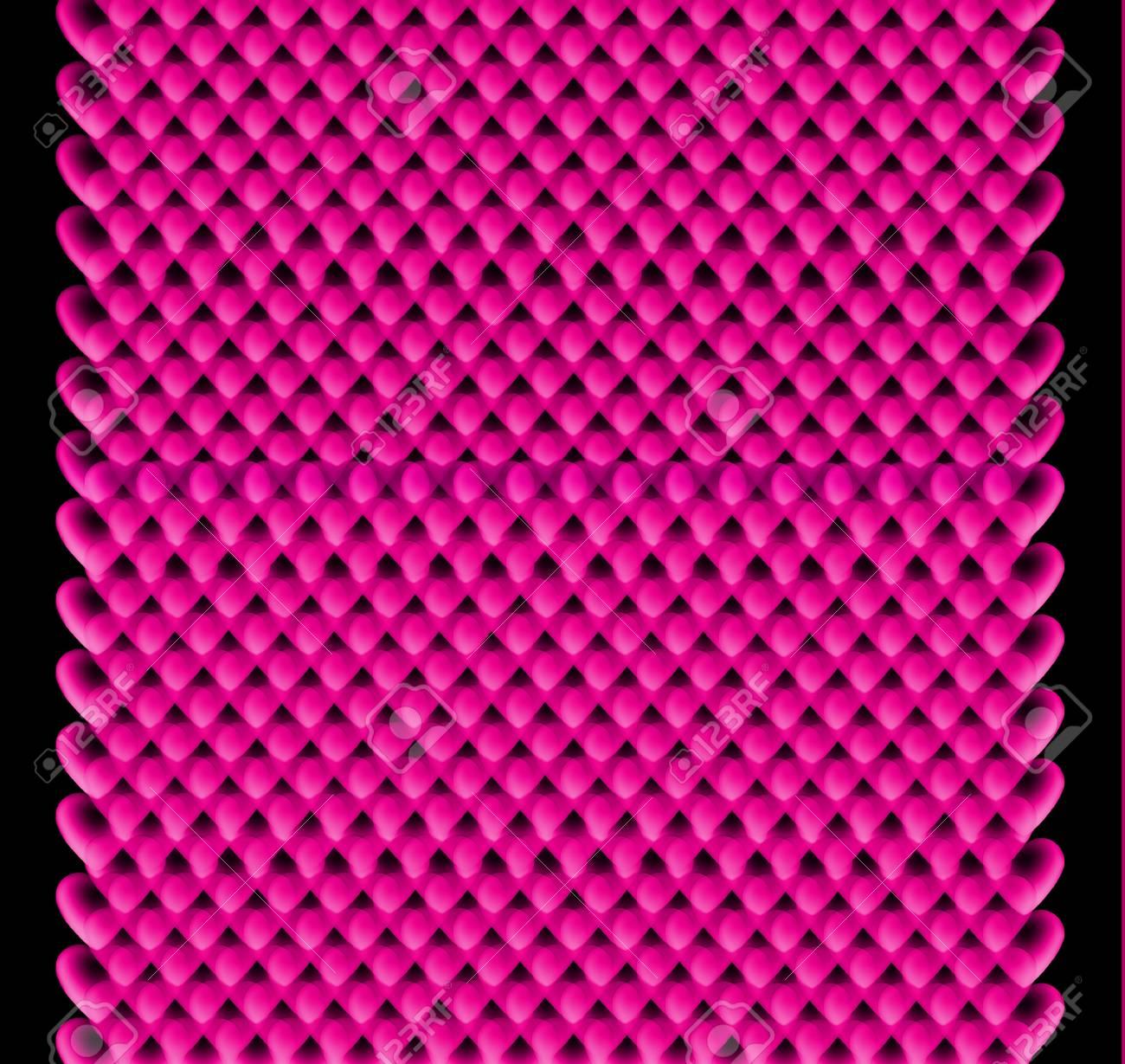 Seamless colorful hearts pattern, Valentine's day or birthday concept Stock Photo - 12159594