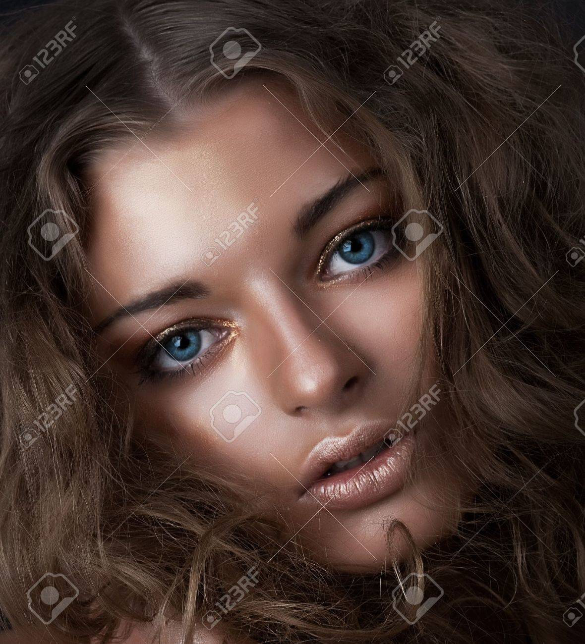Beauty and health, cosmetics and make-up  Portrait of fashion woman model Stock Photo - 13174190
