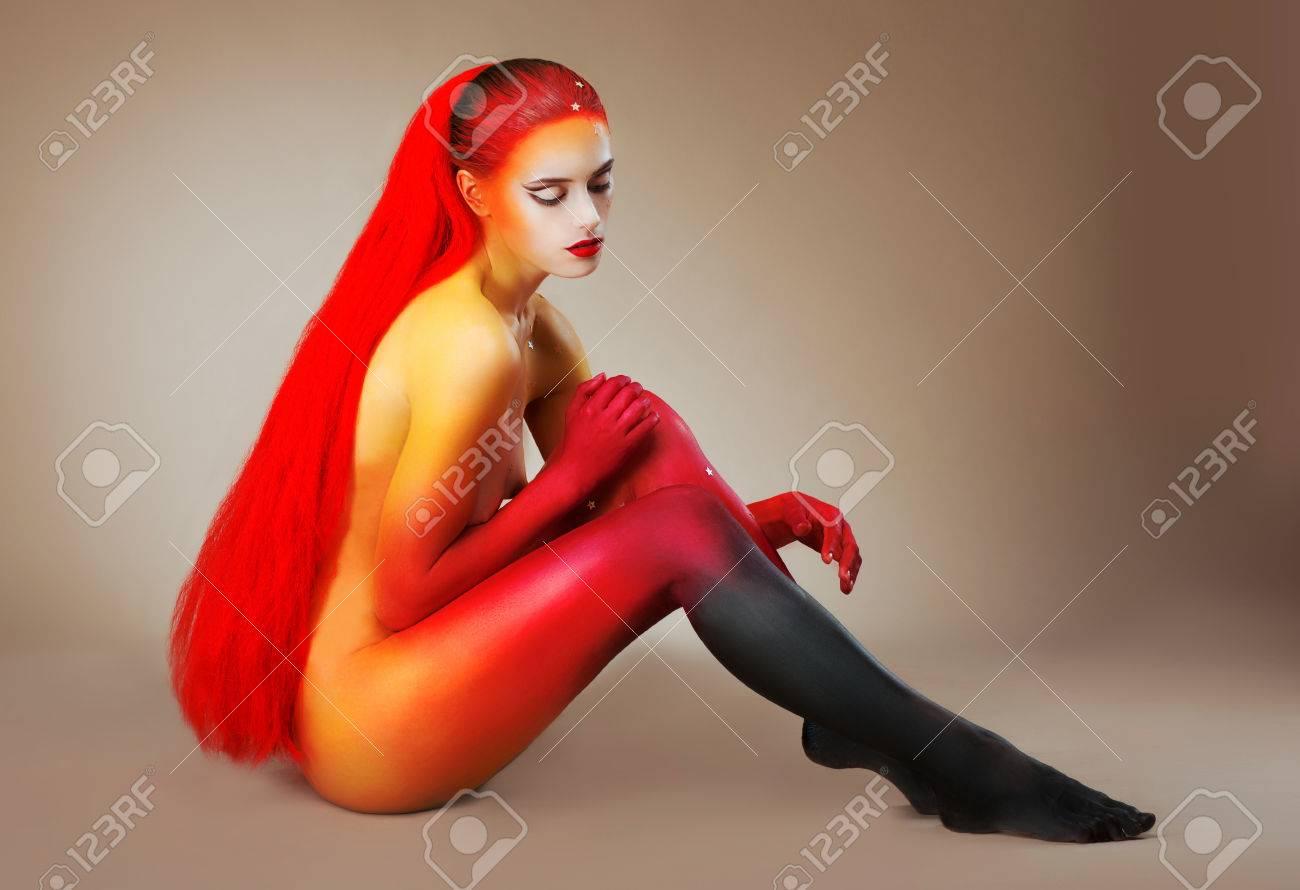 Bilder von nackten Redhead Frauen