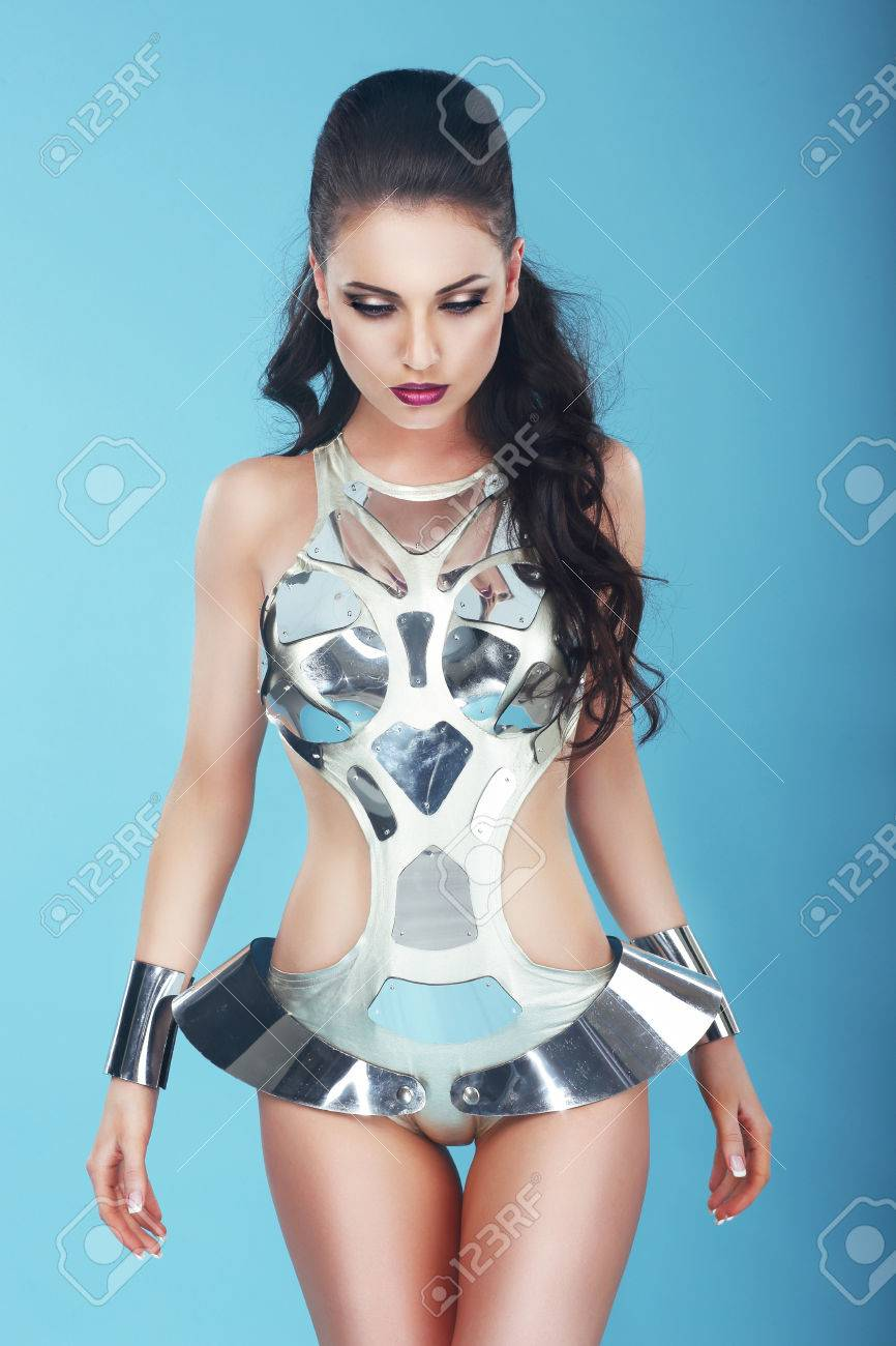 Alien Woman Stock Photos. Royalty Free Alien Woman Images