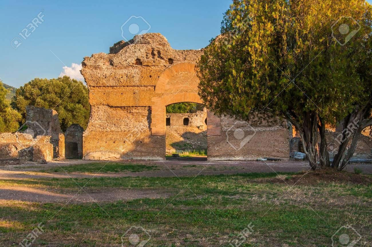 The Hadrian\'s Villa (Villa Adriana In Italian) Is A Large Roman ...