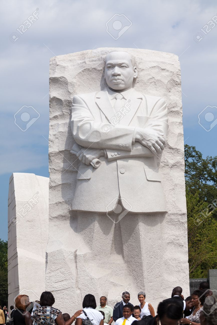 Martin Luther King Jr Monument In Washington Dc Stock Photo