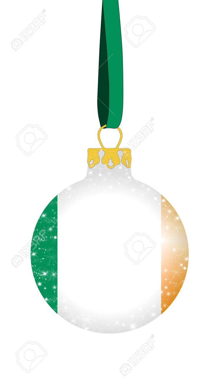 Christmas Ball - Ireland Stock Photo, Picture And Royalty Free Image ...