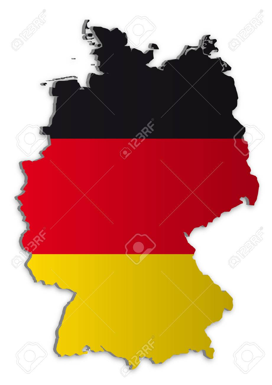 A Simple D Map Of Germany Royalty Free Cliparts Vectors And - Germany map pictures