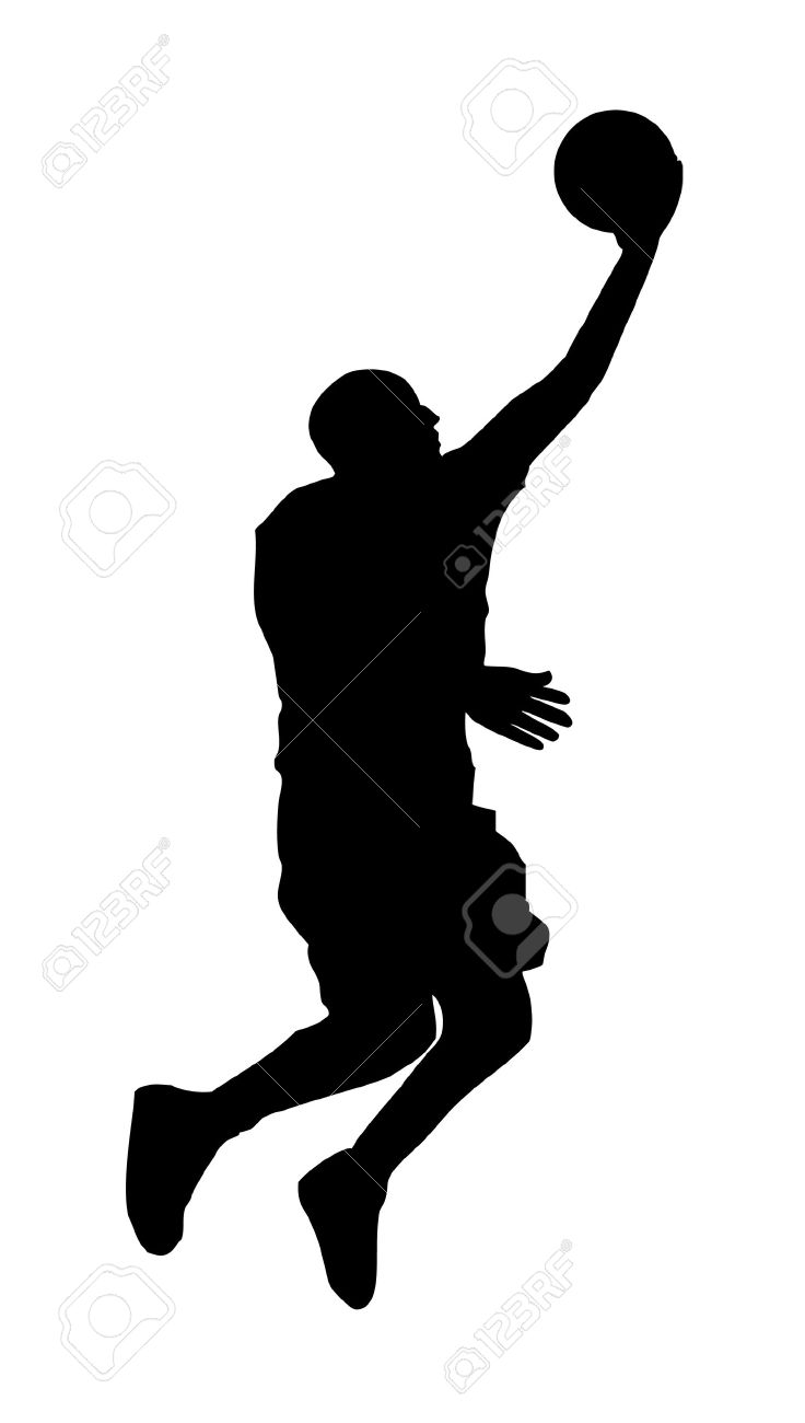 an abstract vector illustration of a basketball player during rh 123rf com baseball player vector basketball player victory from tacoma academy