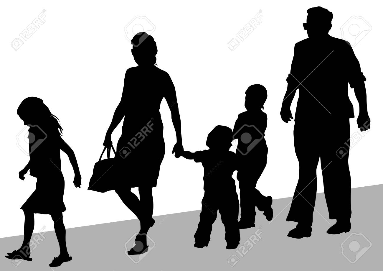 Parents and child Stock Vector - 13030203