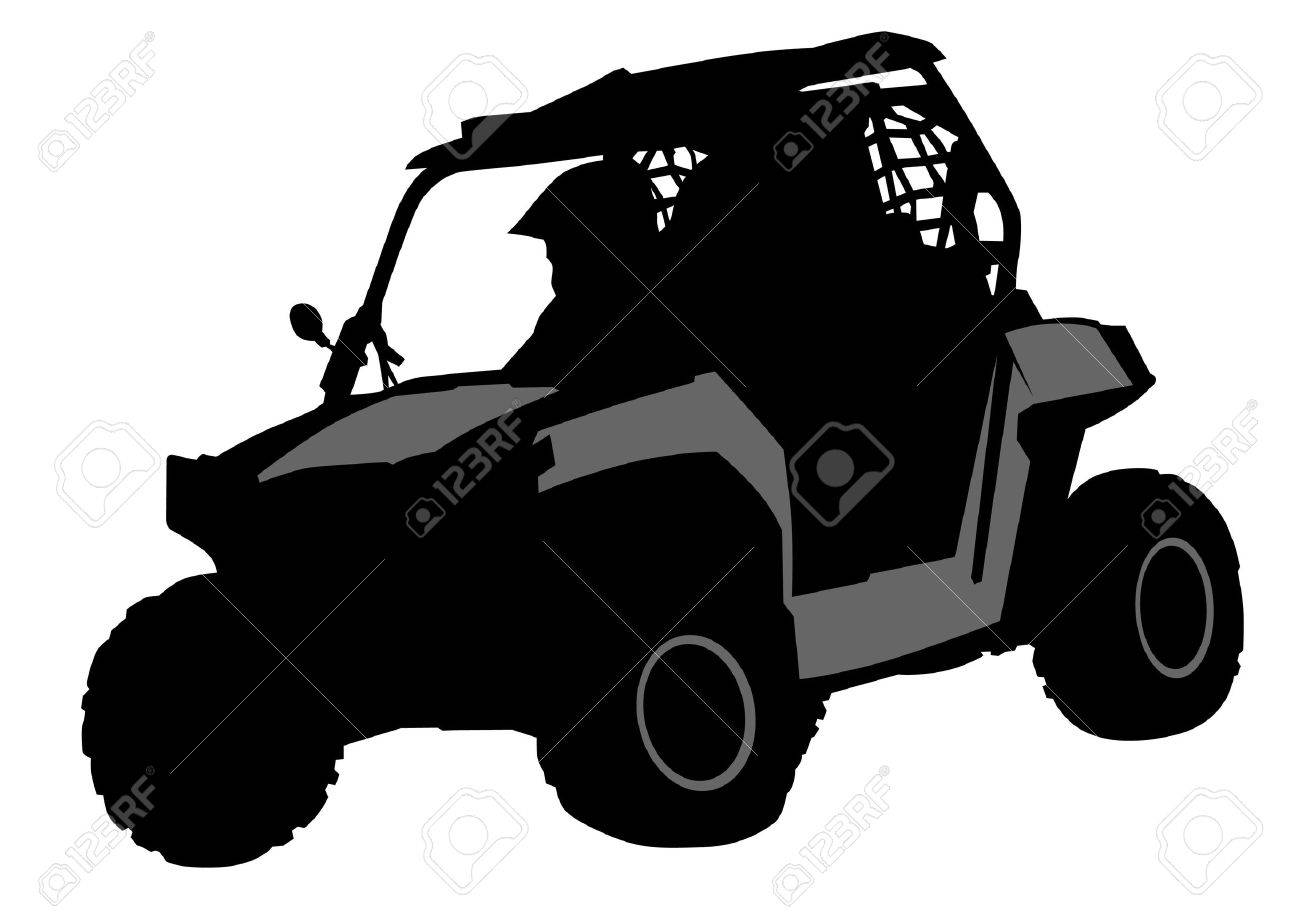 Silhouettes Athletes Atv During Races Royalty Free Cliparts Vectors And Stock Illustration Image 31964323