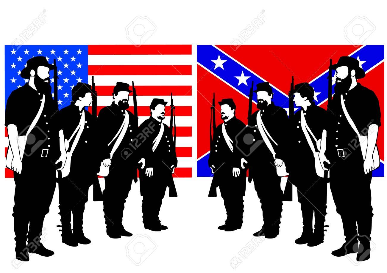 American soldiers in uniform - 119194681