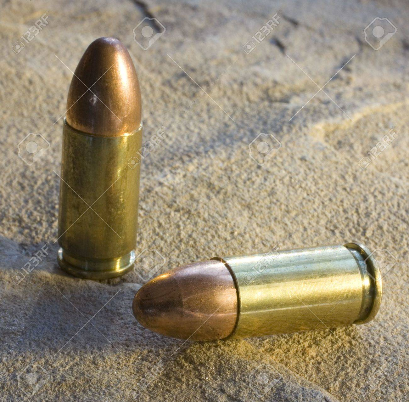 Full Metal Jacketed Bullets For A 20 Mm Stock Photo, Picture And ...