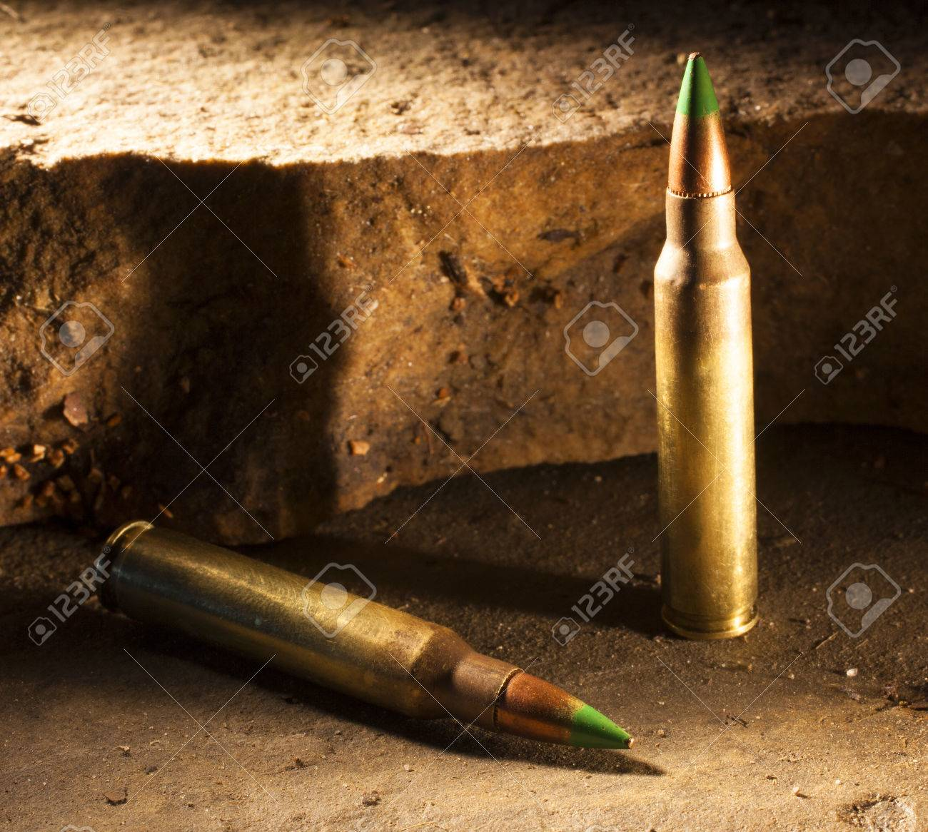 ammunition with a green tip some consider capable of piercing