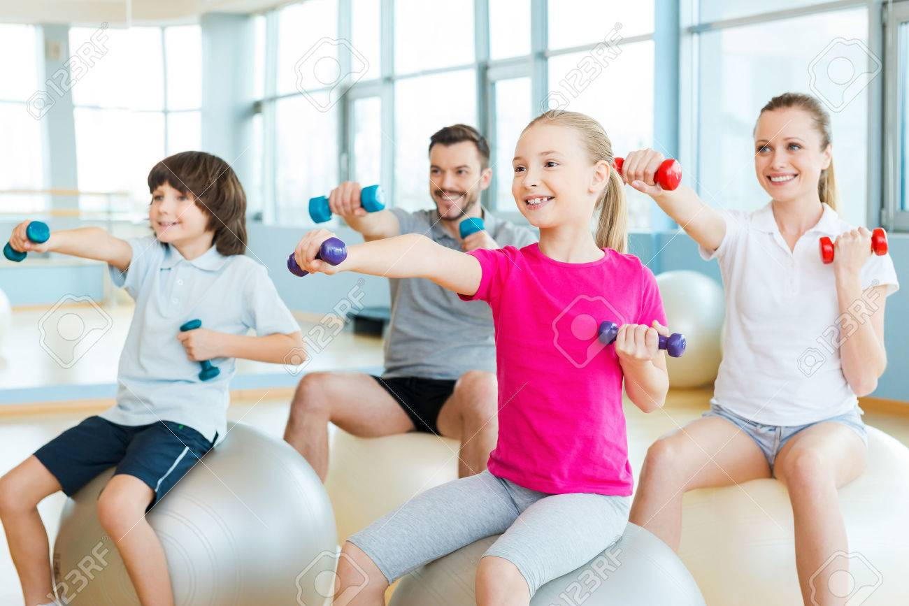 How to Exercise Together As a Family