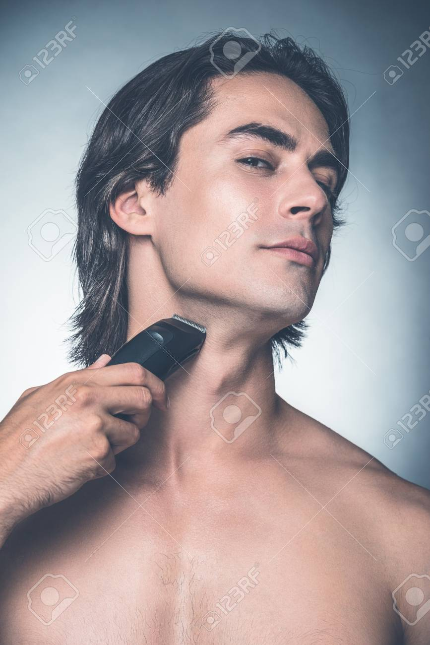 oberkörper rasieren