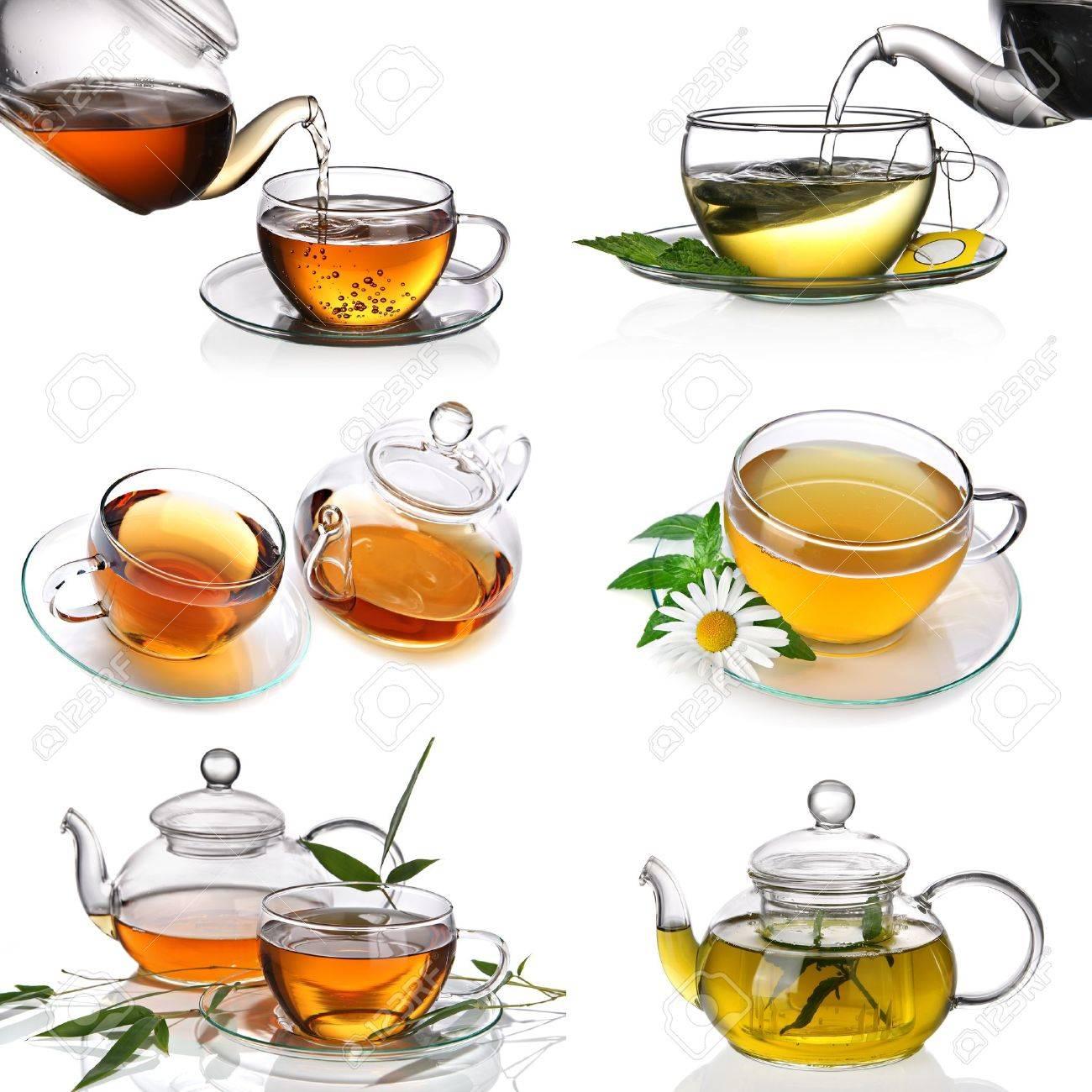 Tea collage Stock Photo - 9546930