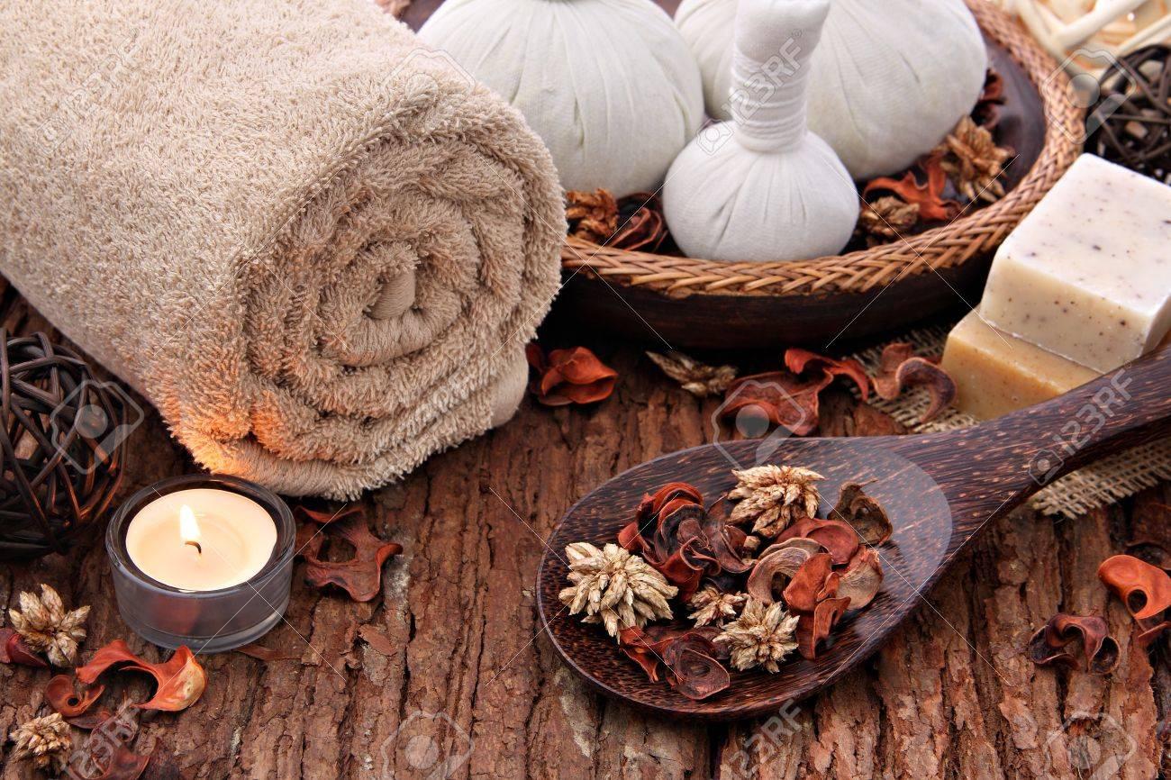 Spa massage setting Stock Photo - 11162554