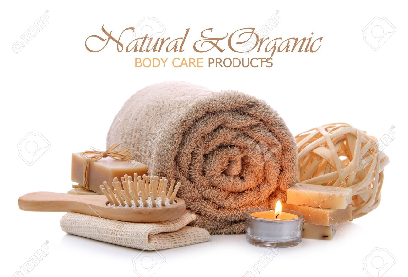 Salle De Bain Spa Sauna ~ organic bath spa sauna and body care toiletries stock photo