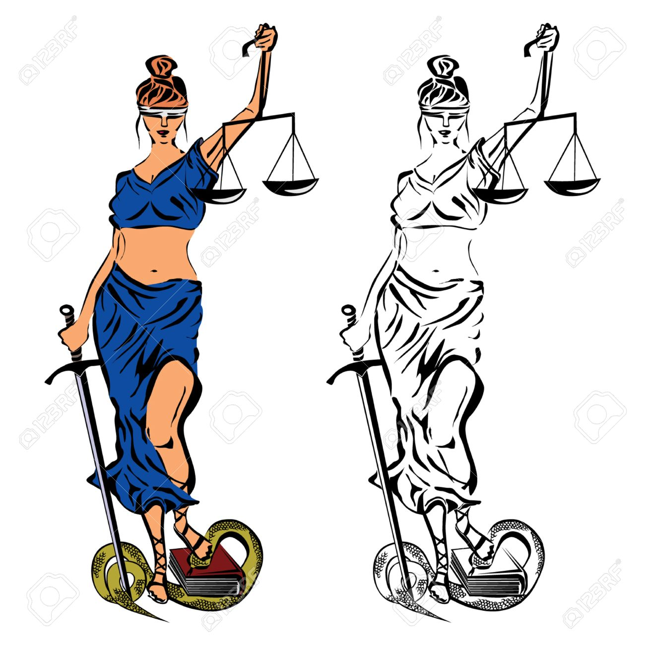 Themis. The Ancient Greek Goddess Of Justice, Fairness And ...