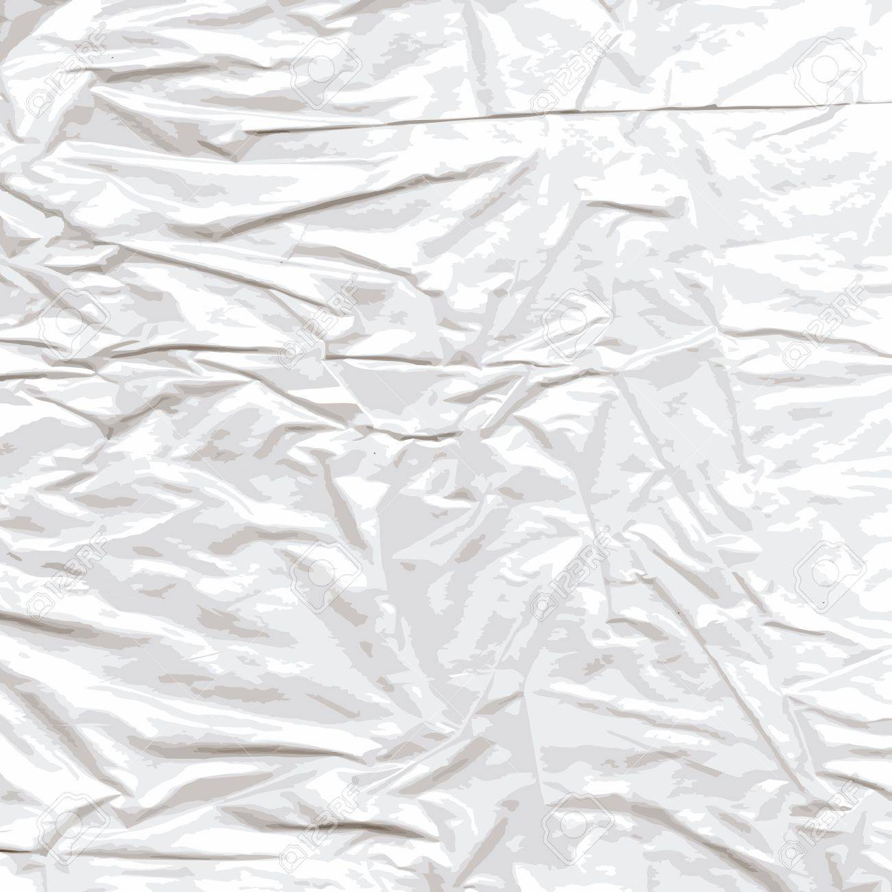 Background of crumpled cellophane  The scanned material translated into a vector drawing Stock Vector - 18153950