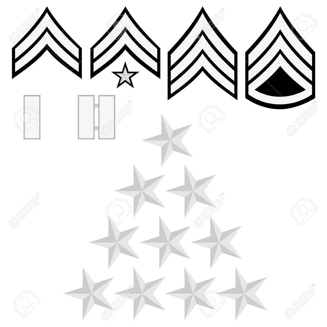 Law Enforcement Ranks >> Ranks And Insignia Of The Police Of The World Illustration On