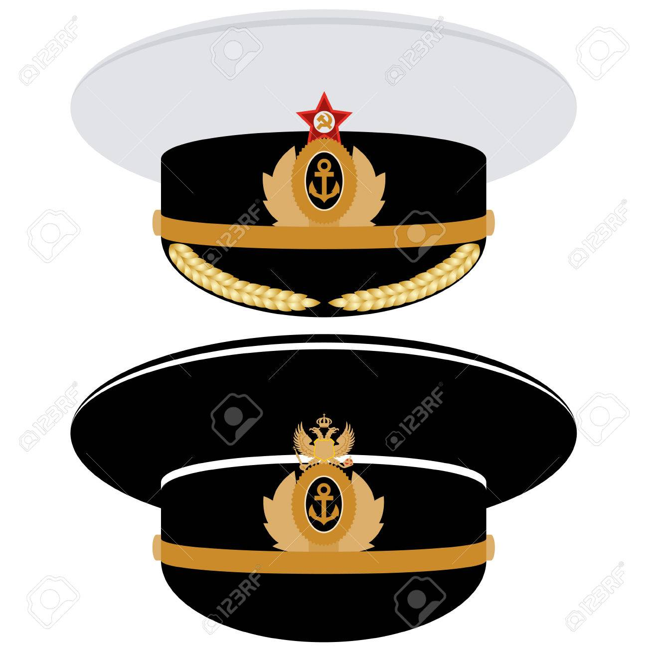 Headgear Officer Of The Navy Of The Ussr And Russia The