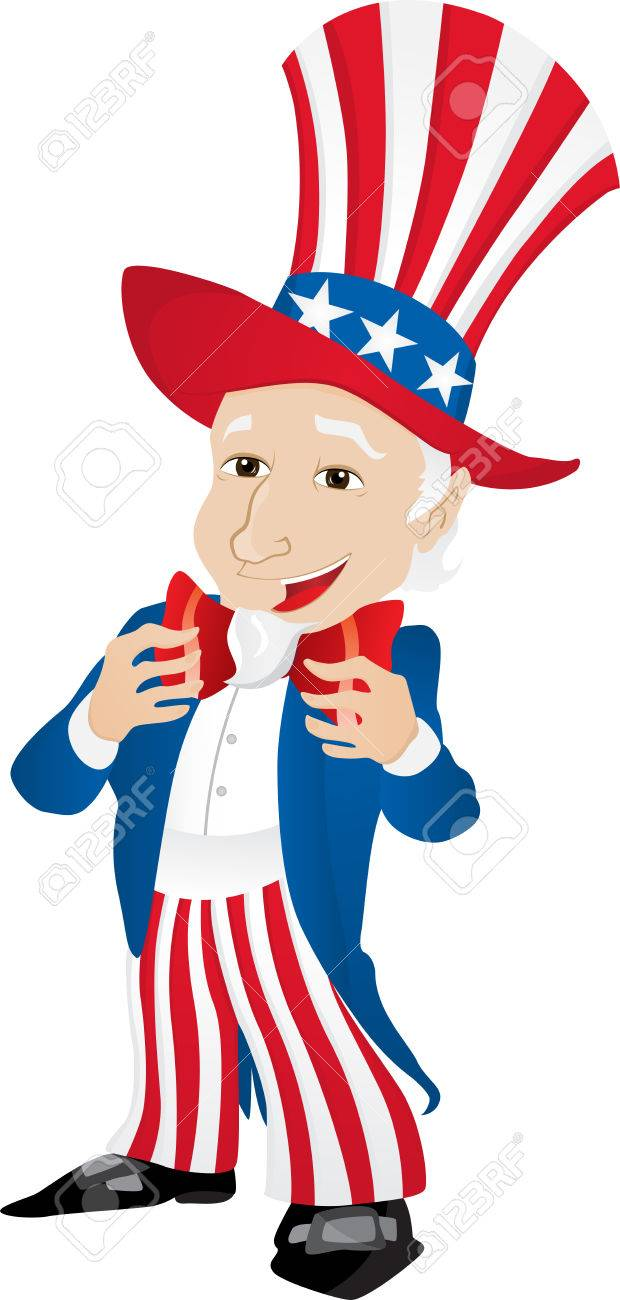 Uncle Sam United States of America. Stock Vector - 7169230
