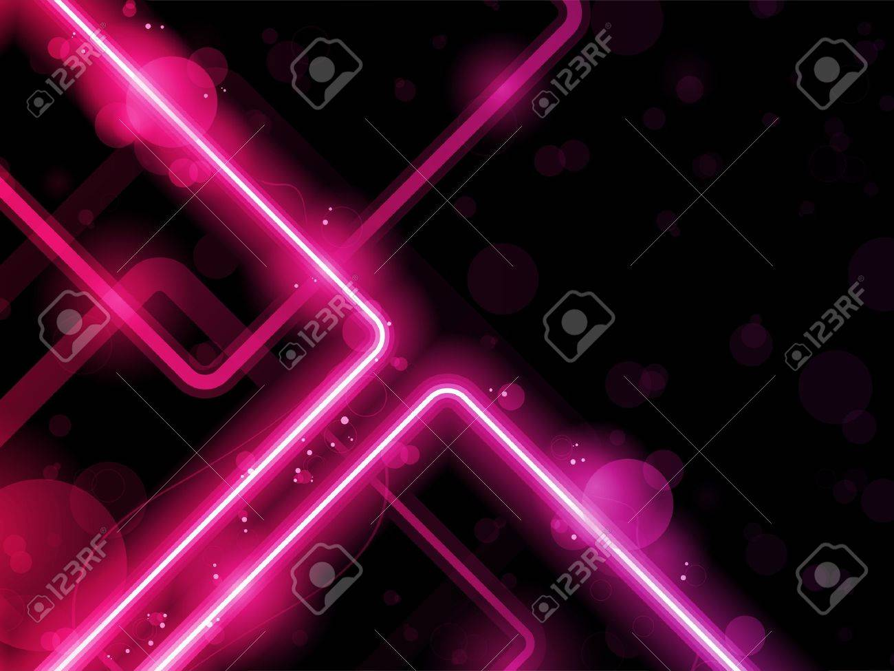 Red  Lines Background Neon Laser Stock Vector - 10843310