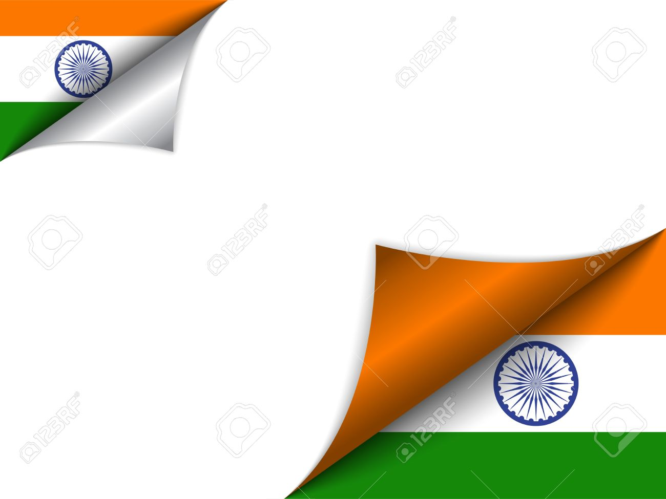 india country flag turning page royalty free cliparts vectors and