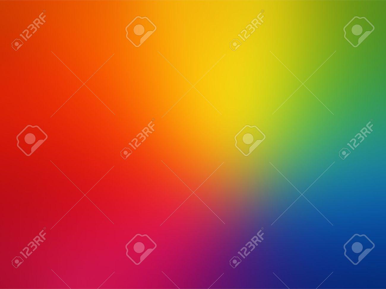 Vector Gay rainbow gradient mesh blur background - 40978086