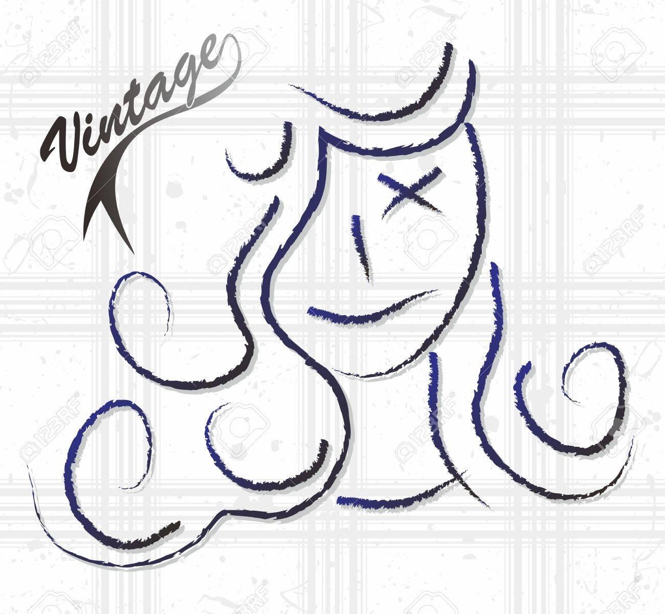 woman sketch Stock Vector - 16060668