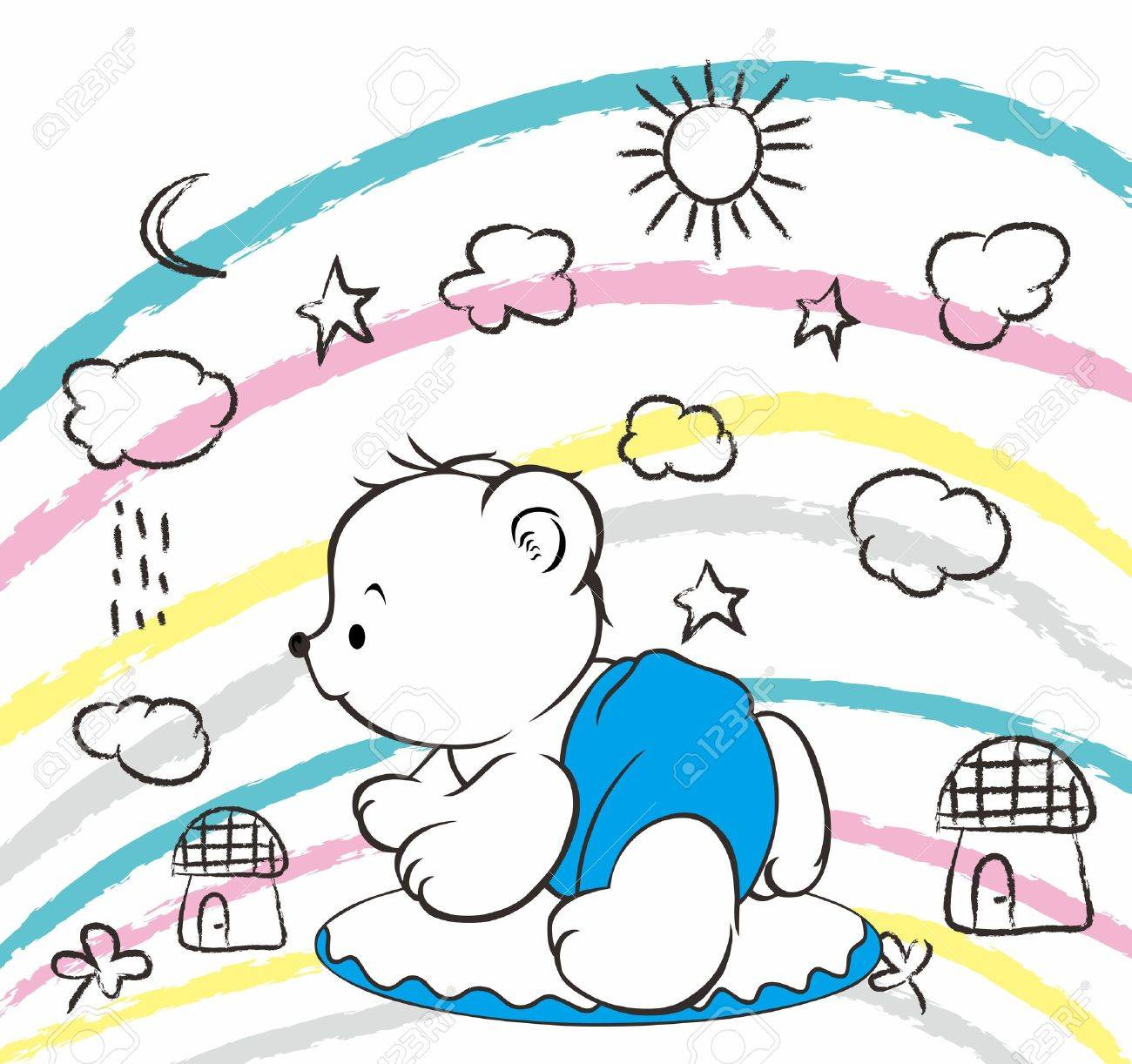 bear world Stock Vector - 16395200