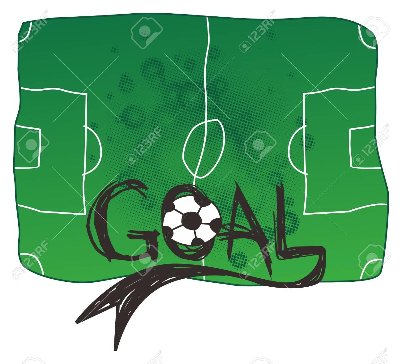 soccer goal Stock Vector - 16395271