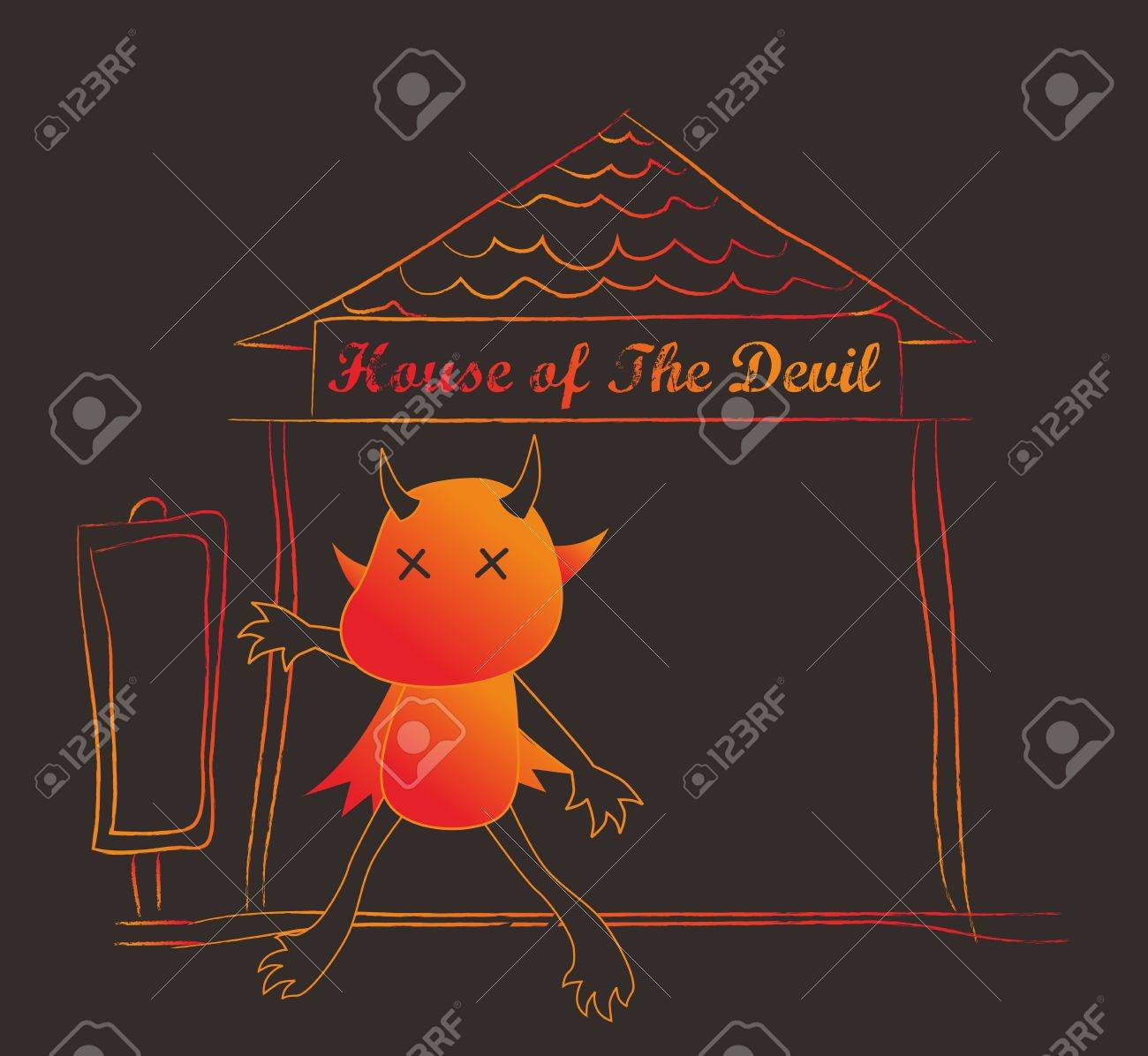 satan dance Stock Vector - 17065554