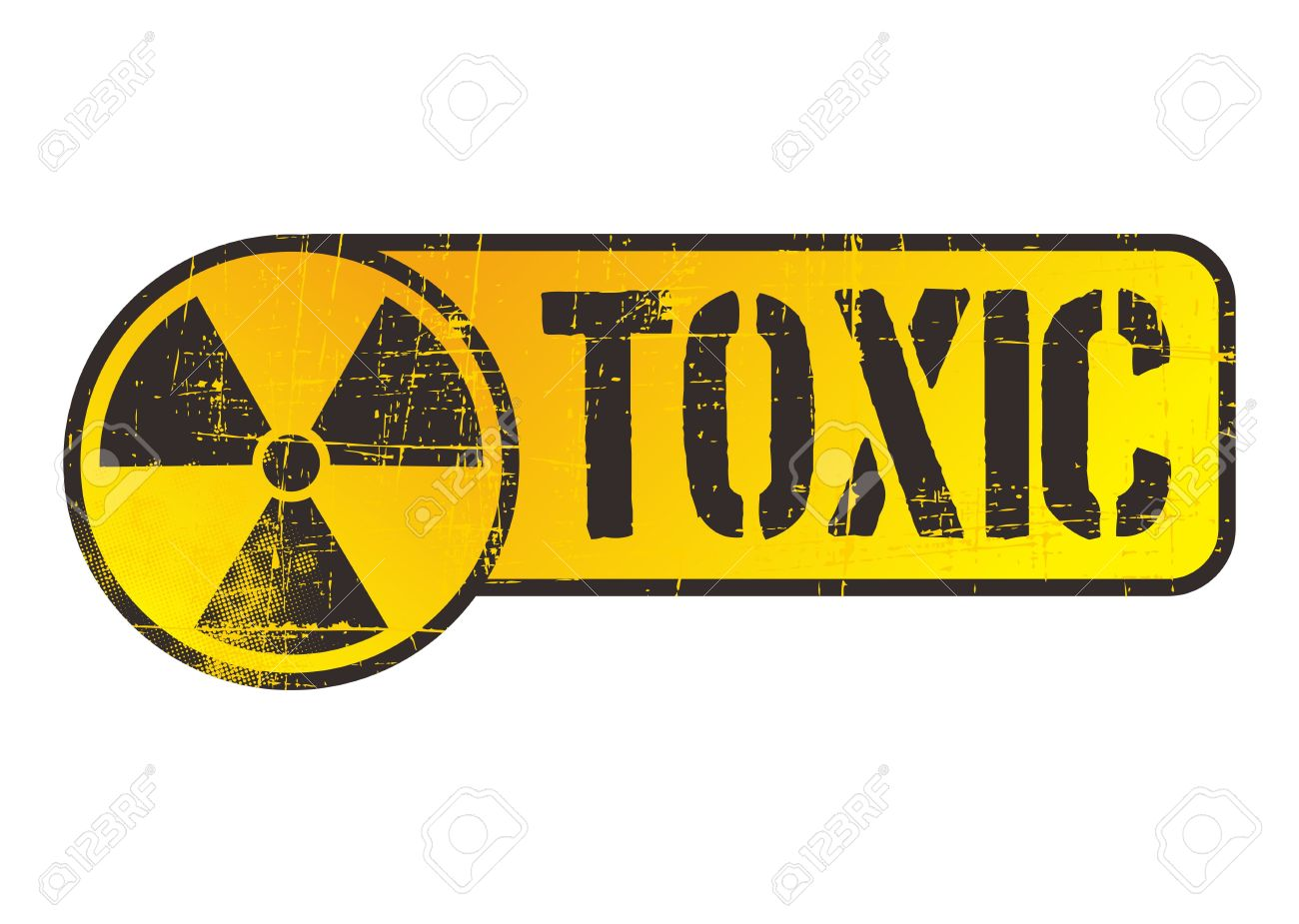 danger nuclear sign toxic Stock Vector - 17129614