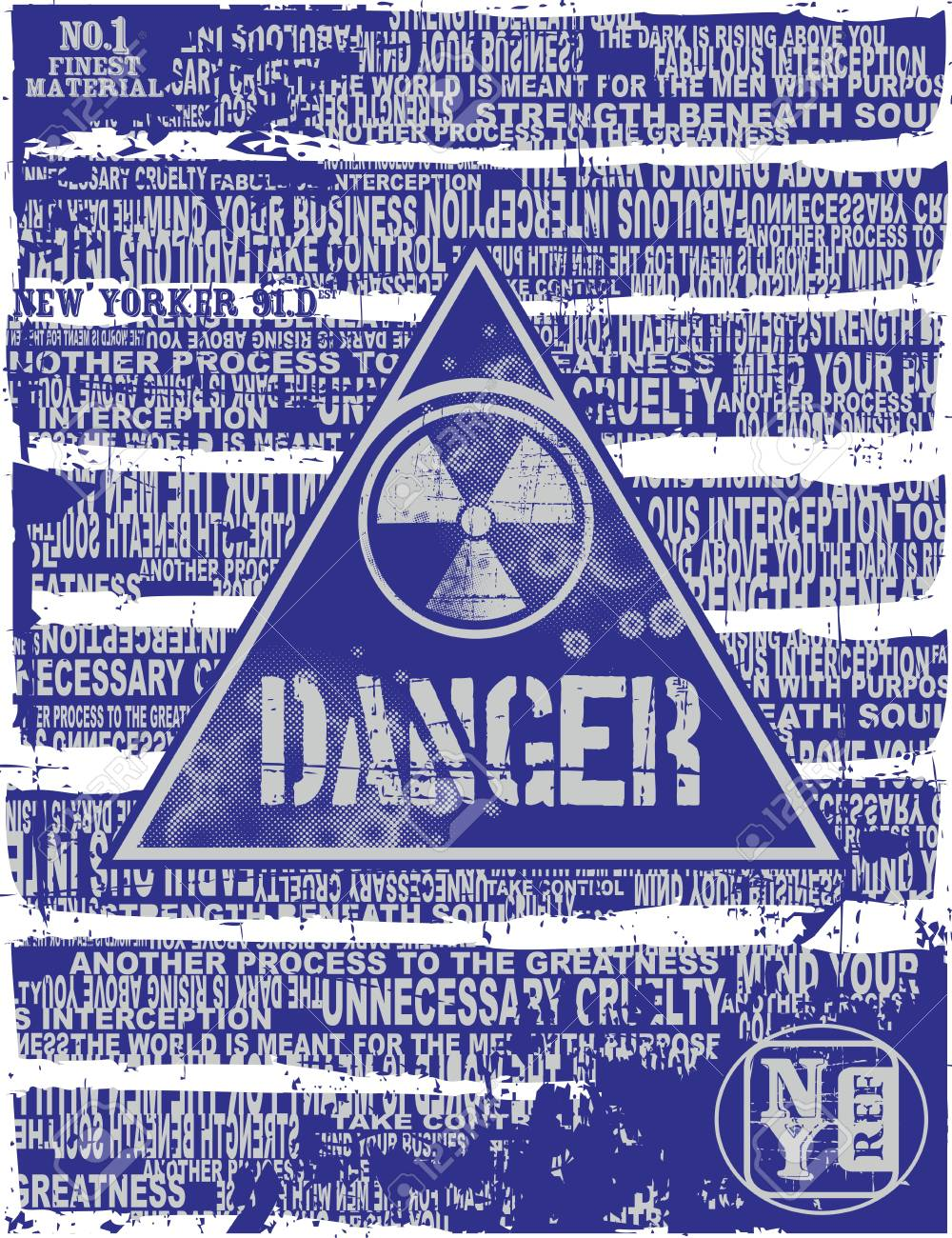 danger page Stock Vector - 17106099