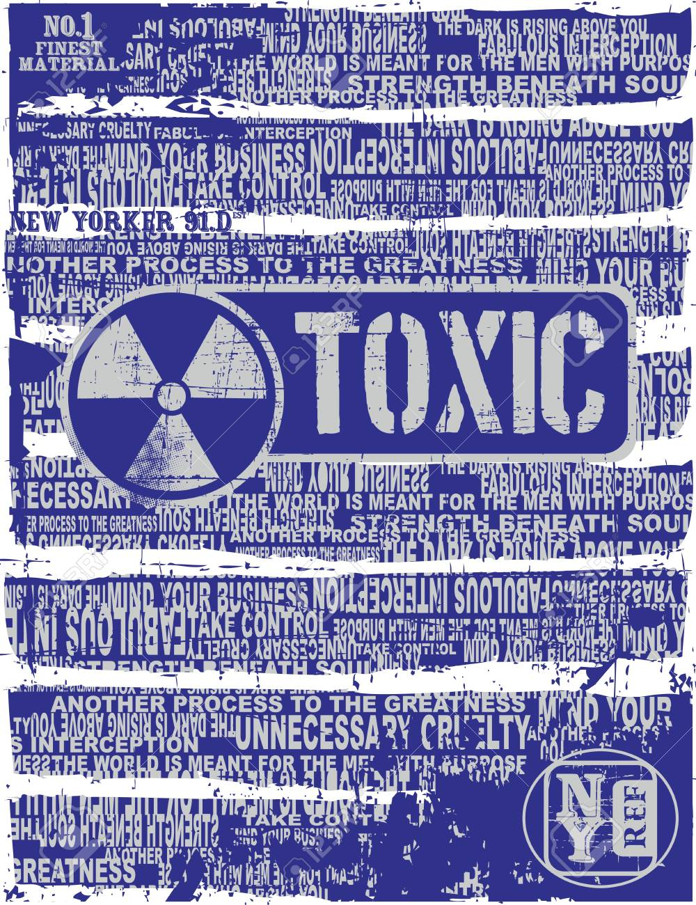 toxic page Stock Vector - 17106095