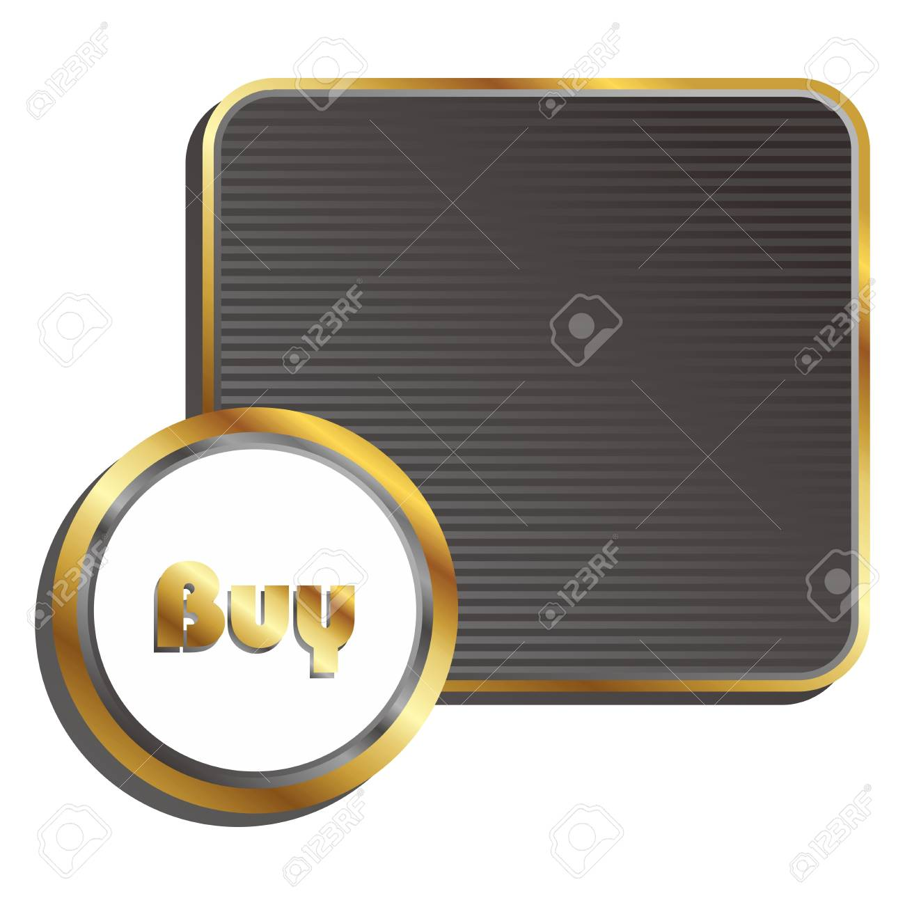 round label tag Stock Vector - 17656026