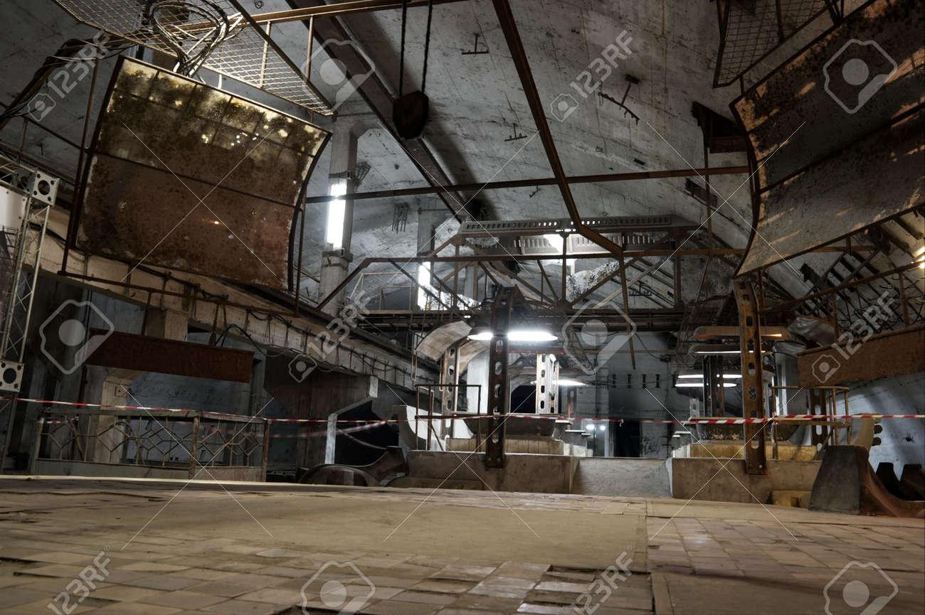 Underground Military Bases For Sale Former Soviet Underground Submarine Base In Balaklava Stock Photo