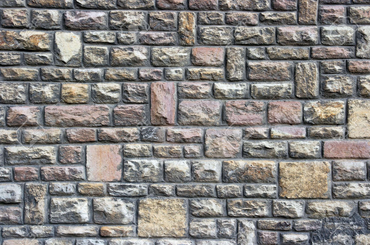 castle wall made of old stone bricks stock photo picture and
