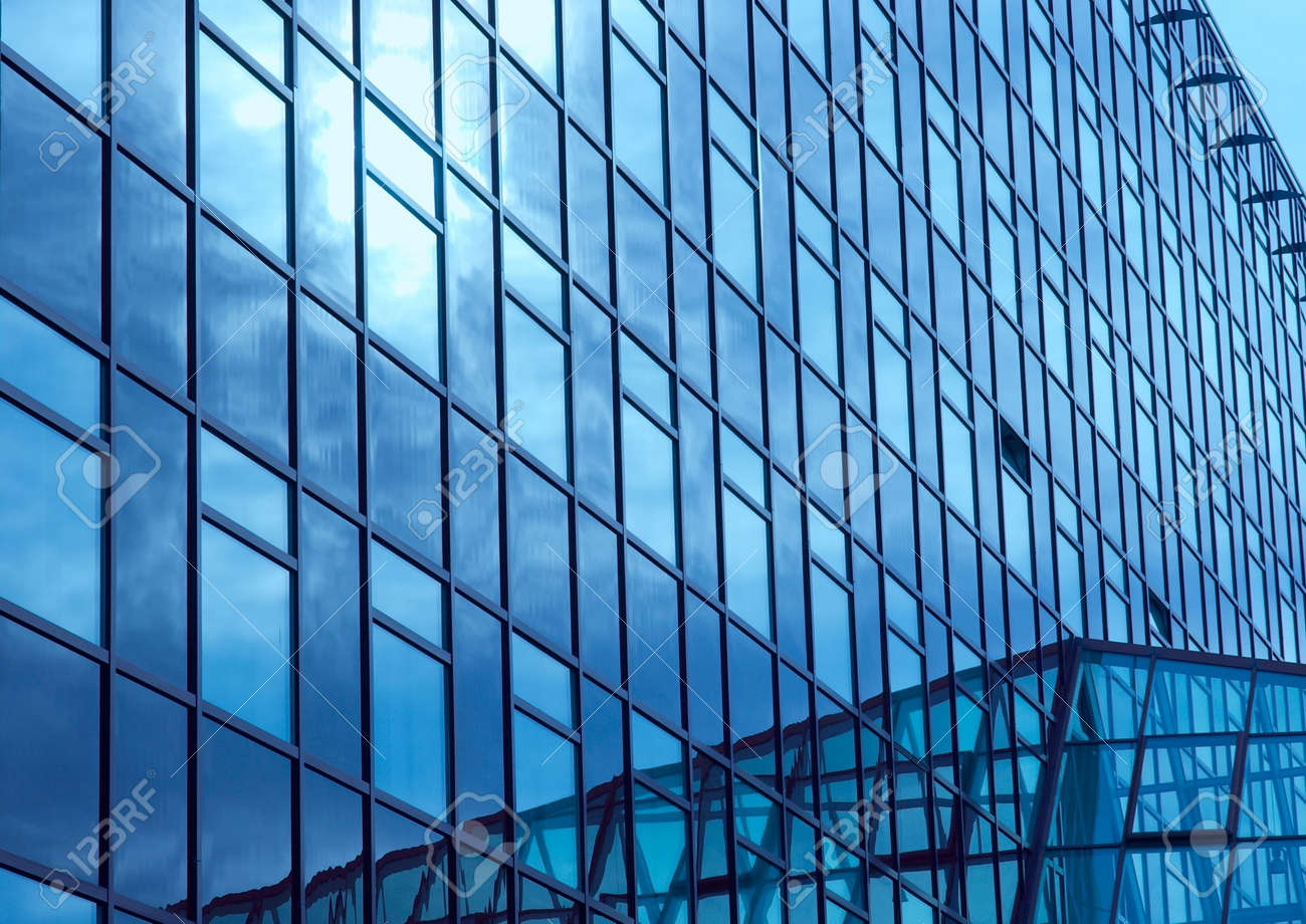 huge modern office building with blue glass surfaces stock photo 2330082 blue glass top modern office